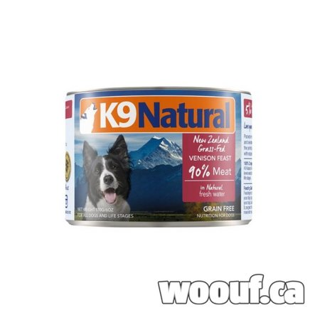 K9 Natural Can - Venaison / Venison 6oz