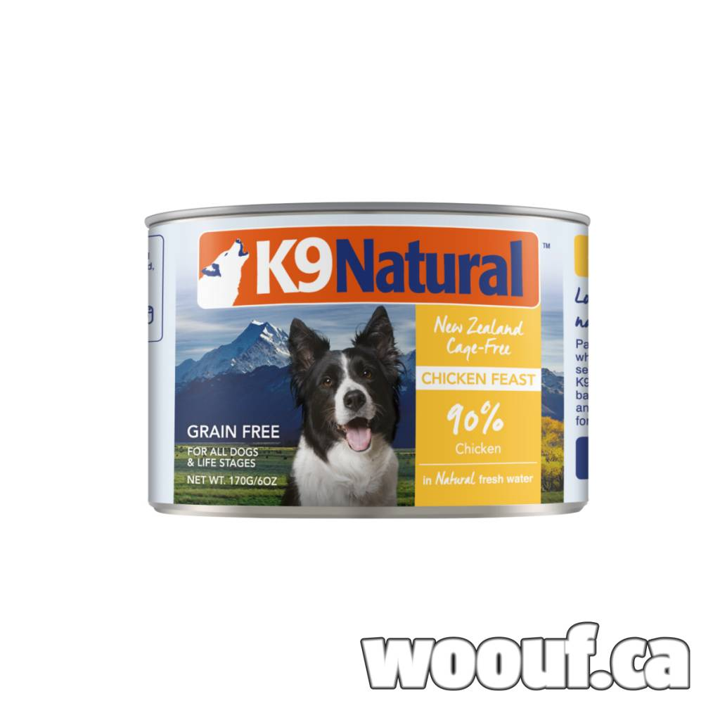 K9 Natural Can - Poulet / Chicken 6oz