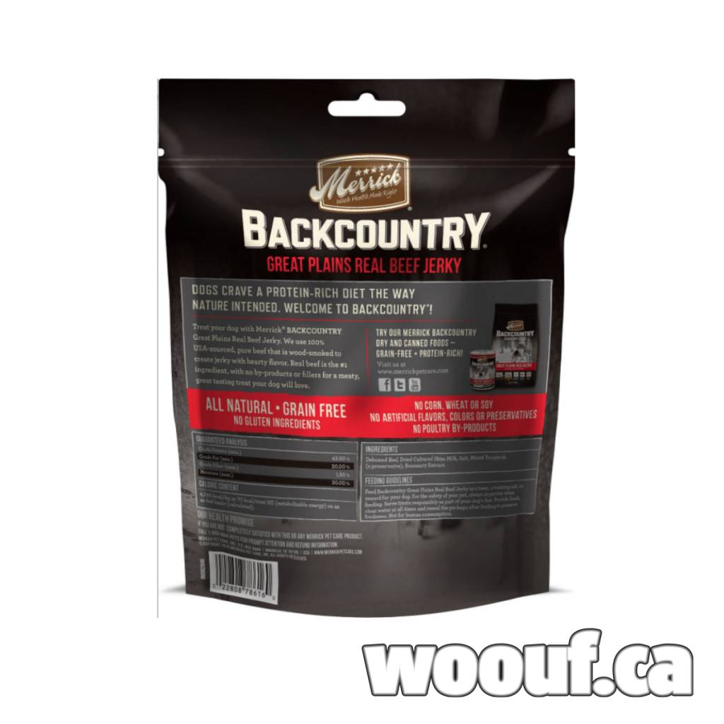 M. Backcountry - Great Plains Real Beef Jerky