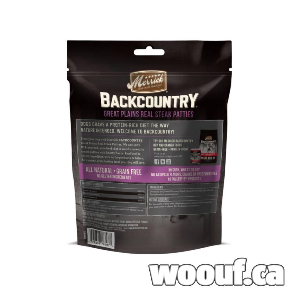 M. Backcountry - Real Steak Patties