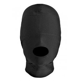 XR Brands Disguise Open Mouth Hood with Padded Blindfold
