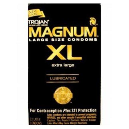 Trojan Magnum XL Condom, 12-pack