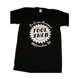 Tool Shed T-Shirt Classic Cut, Black