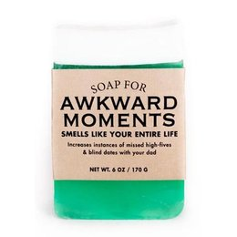 Whiskey River Soap Co. Soap for Awkward Moments
