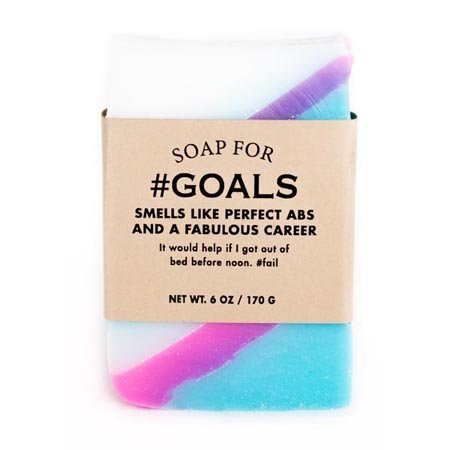 Whiskey River Soap Co. Soap for Goals