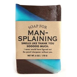Whiskey River Soap Co. Soap for Man-splaining