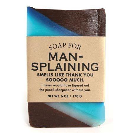 Whiskey River Soap Co. Soap for Man-splaining