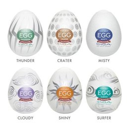 Tenga Tenga Egg, Hard Boiled