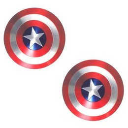 Neva Nude Nipztix Captain America Shield Pasties
