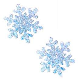 Neva Nude Nipztix Snowflake Glitter Frost Pasties