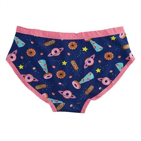 Sock It To Me Glazed Galaxy Underwear, Hipster Panty
