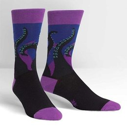 Sock It To Me Octopi Your Feet Crew Socks