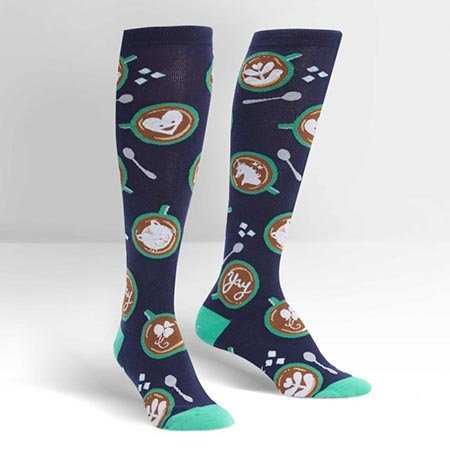 Sock It To Me Barista Artista Knee Socks