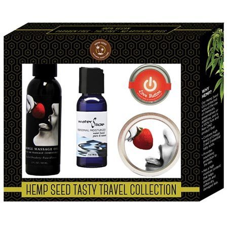 Earthly Body Tasty Travel Collection, Strawberry