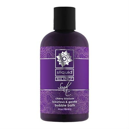 Sliquid Sliquid Soak Bubble Bath, Cherry Blossom