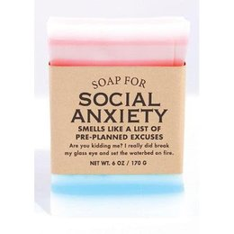 Whiskey River Soap Co. Soap for Social Anxiety