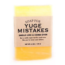 Whiskey River Soap Co. Soap for Yuge Mistakes