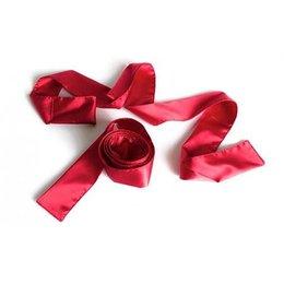 Liberator Silky Tie Ups, Red