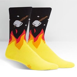 Sock It To Me S'more to Love Crew Socks