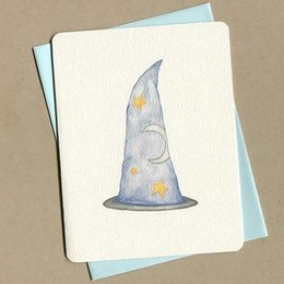Foulmouth Greetings Wizard Greeting Card
