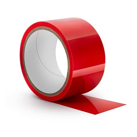 Blush Temptasia Bondage Tape, Red