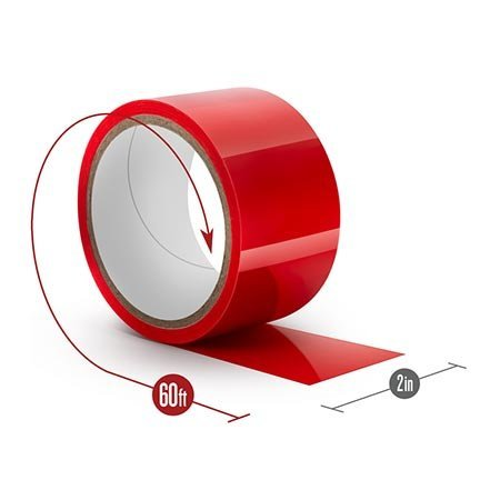 Temptasia Bondage Tape, Red