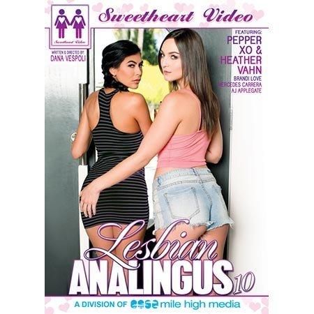 Sweetheart Video Lesbian Analingus 10 DVD