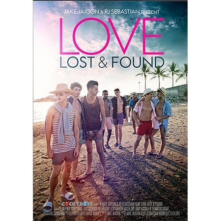 Cockyboys Love Lost and Found DVD