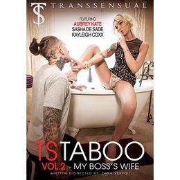 Trans Sensual TS Taboo Volume 02 My Boss' Wife DVD