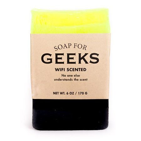 Whiskey River Soap Co. Soap for Geeks