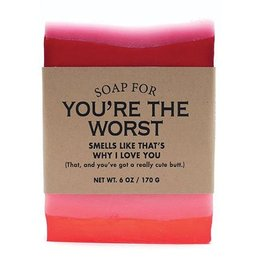 Whiskey River Soap Co. Soap for You're the Worst