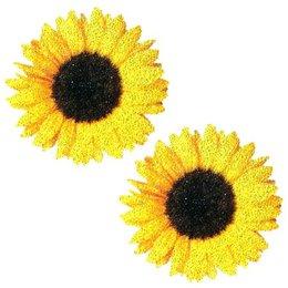 Neva Nude Nipztix Sunflower Glitter Pasties