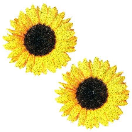 Nipztix Sunflower Glitter Pasties
