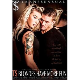 Trans Sensual TS Blondes Have More Fun DVD