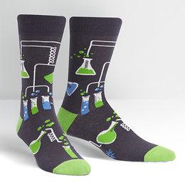 Sock It To Me Laboratory Crew Socks, Large