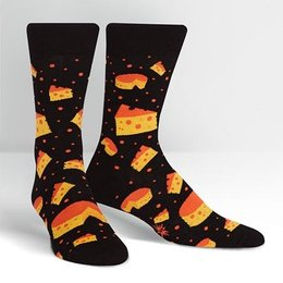 Sock It To Me Space Cheese Crew Socks
