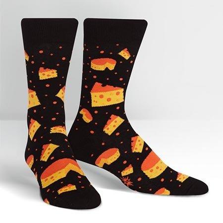 Sock It To Me Space Cheese Crew Socks