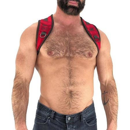 Nasty Pig Nasty Pig Access Harness 8509, Red