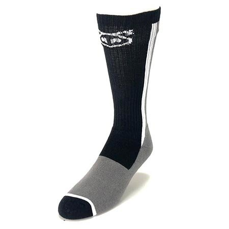 Nasty Pig Nasty Pig Standard Issue Socks, Gray/Black