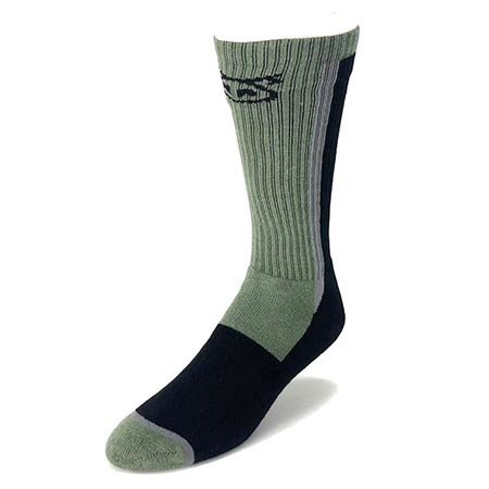 Nasty Pig Nasty Pig Standard Issue Socks, Green/Black