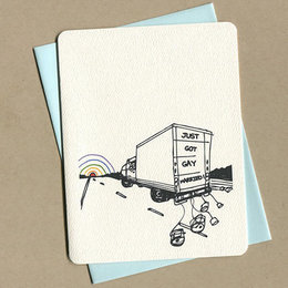 Foulmouth Greetings Uhaul Greeting Card