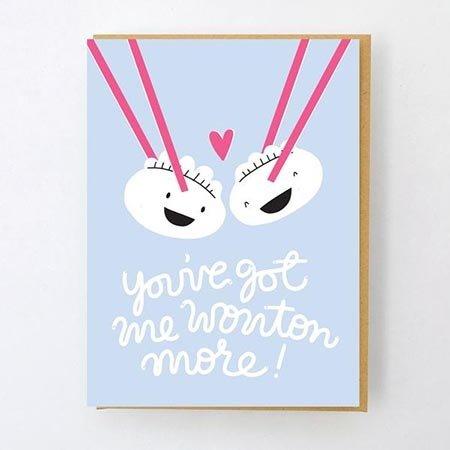 HelloLucky Wonton You Greeting Card