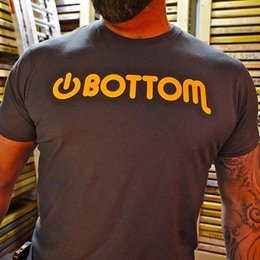 BurlyShirts Power Bottom T-shirt