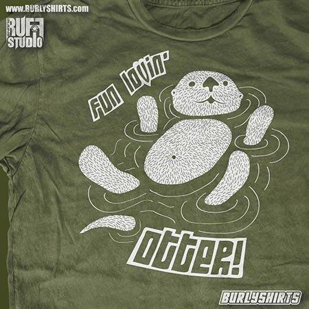 Fun Lovin' Otter T-shirt