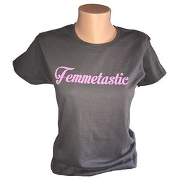 Tool Shed Femmetastic T-shirt, Fitted Hourglass Cut
