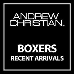 Andrew Christian Andrew Christian Boxers Lookbook