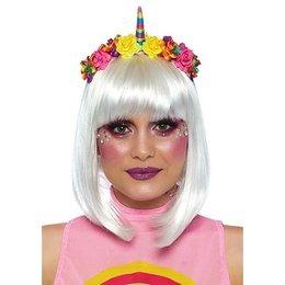 Rainbow Unicorn Flower Headband A2846