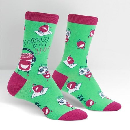Sock It To Me Kindness Is My Jam Crew Socks