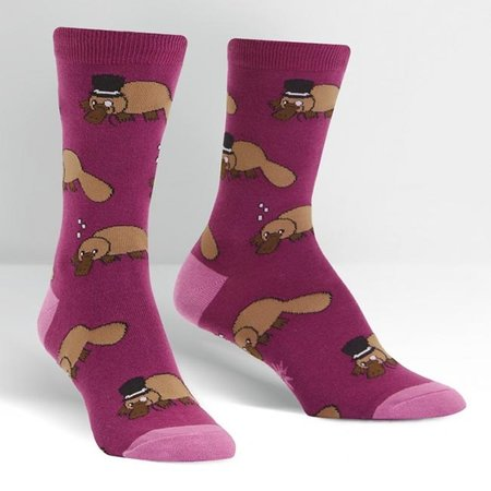 Plati-tude Crew Socks