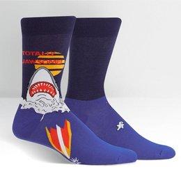 Sock It To Me Totally Jawsome Crew Socks